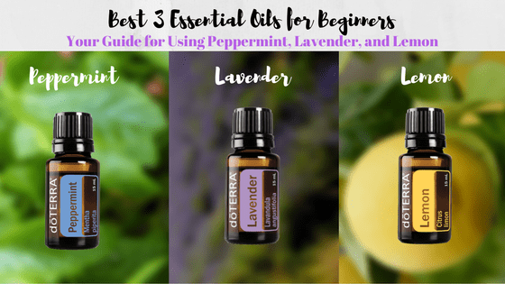 3 essential oils for beginners | common benefits of oils | lavender | peppermint | lemon